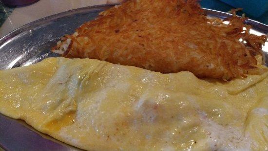 Somerville, TX: Western Omelet.