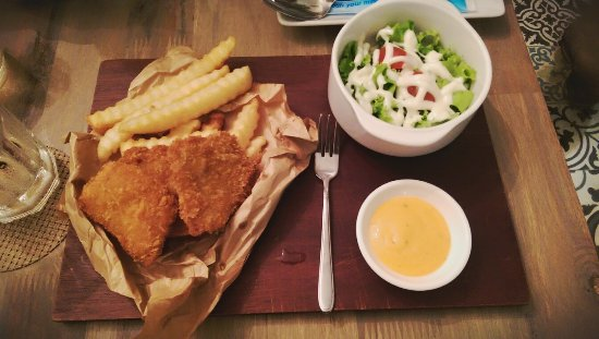 Oromia coffee lounge ho chi minh city restaurant for Eds fish and chips