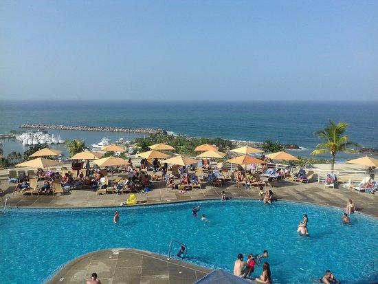 Venezuela Marriott Hotel Playa Grande: Vista desde la terraza