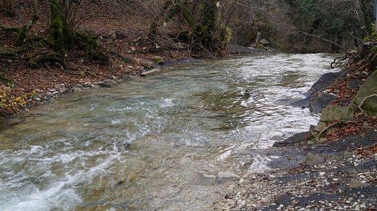 Gelendzhiksky District, Rosja: Чистейшая вода реки Жане
