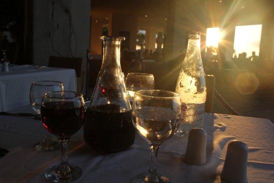 Panorama Hotel - Chania: middag