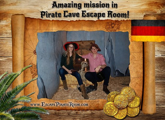 ‪‪Pirate Cave‬: The secret map leaded them to the hidden cave and thed'd got the treasure. Glückwünsche! ;)‬