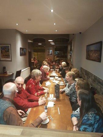 Haslingden, UK: Siena restaurant