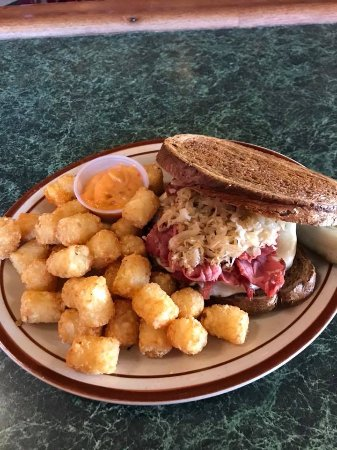 "Sycamore, IL : January Burger of the Month is here! ""Reuben Burger""!"