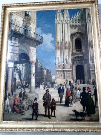 Palazzo Morando : Dipinto Piazza Duomo