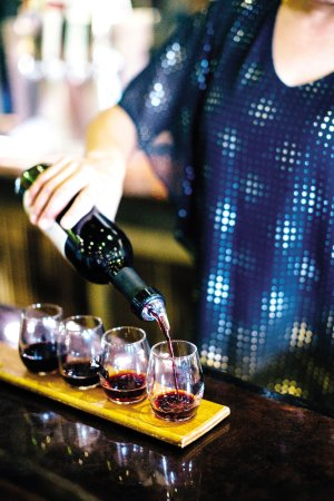 Three Rivers Wine Trail: Try a flight at Indian Bear Winery.