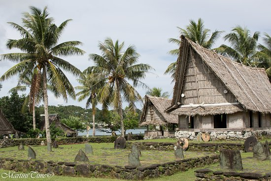 Colonia, Federated States of Micronesia: Man house