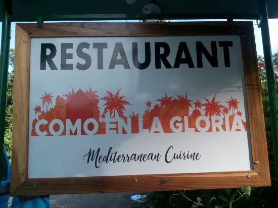 Cocles, Costa Rica: Como en la Gloria