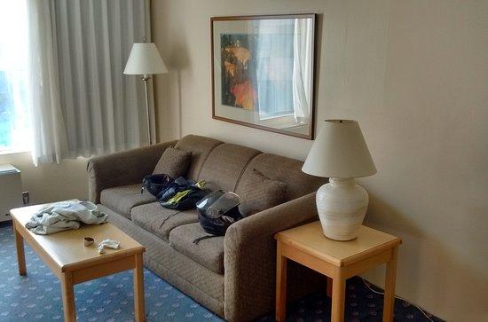 Howard Johnson Hotel by Wyndham Nanaimo Harbourside: 24 août 2017 à 18h38 / chambre 210