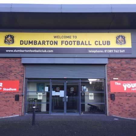 ‪Dumbarton Football Stadium‬