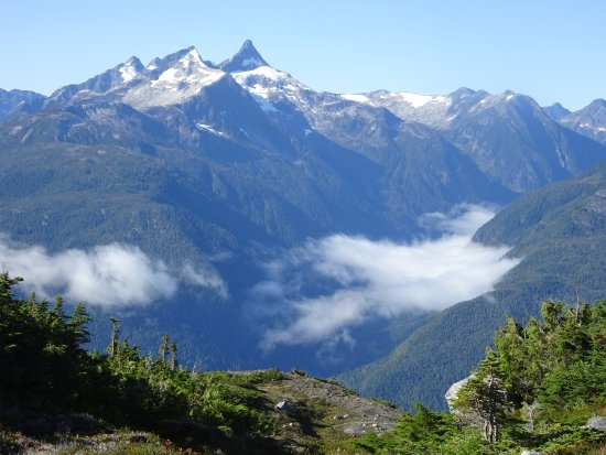 Pemberton, Canada: High above the Great Bear Rainforest of Bella Coola BC