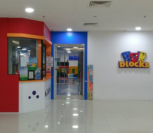 Fun Blocks Interactive Indoor Playground