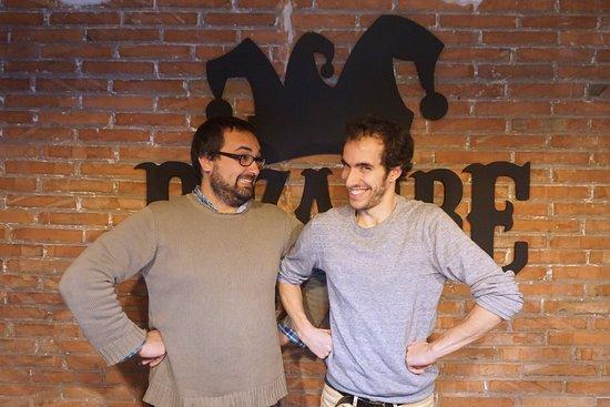 Bizarre Escape Room : Mi amigo y yo en Bizarre. ¡¡LUJO!!