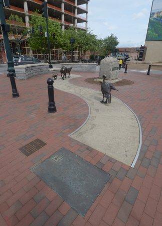 Urban Trail: una statua