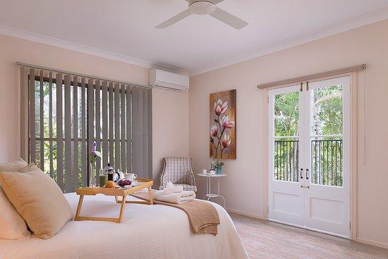 Witta, Australia: Master Bedroom of Holiday House
