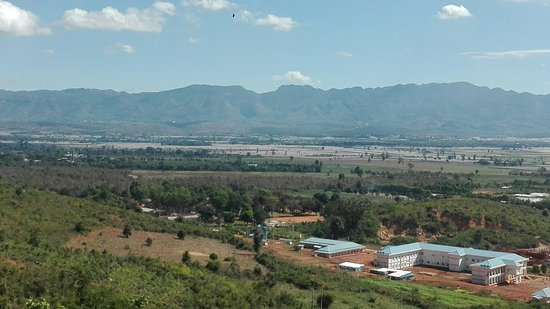 Way down from Heho airport to Nyaungshwe(Inle).