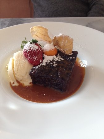 Seaton, UK: Sticky toffee pudding