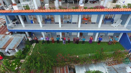 Hotel Pa Muelle: ¡¡¡HOLA… HOLA…!!! Saludos, San Juan La Laguna, Hotel  Pa Muelle