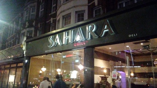 Ilford, UK: Sahara