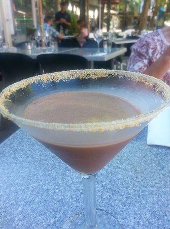 FORD'S Restaurant & Bar : Jafa martini, yum!