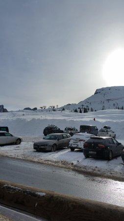 Passo Rolle, Italy: parcheggio