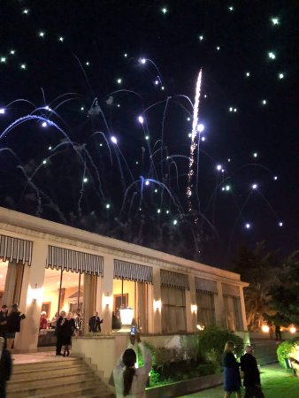 Palacio Estoril Hotel, Golf and Spa: NYE fireworks