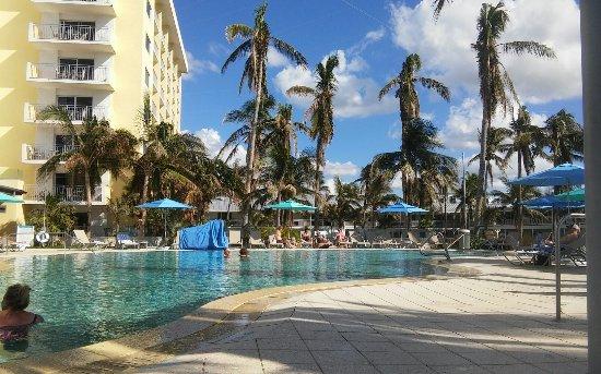 The Naples Beach Hotel & Golf Club: On the pool deck