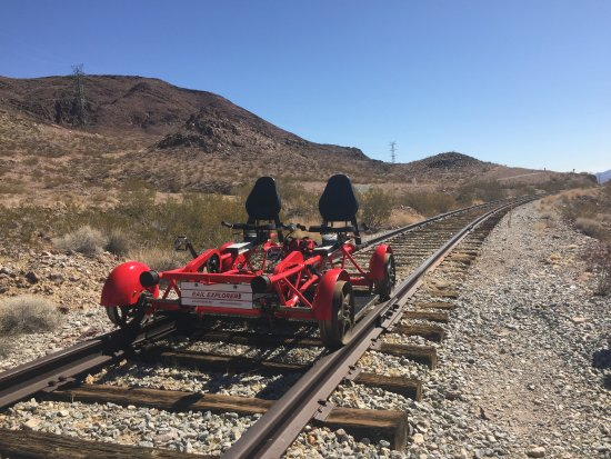 Boulder City, NV: Out on the track