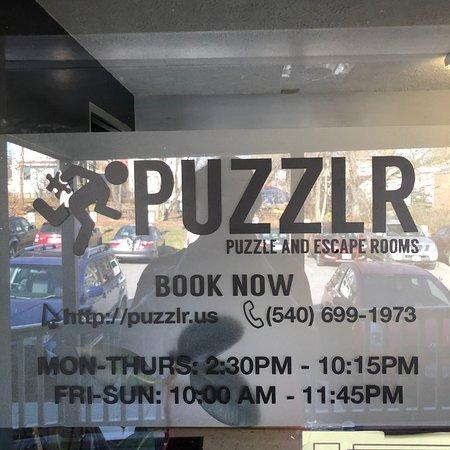Blacksburg, VA: Puzzlr Front Door