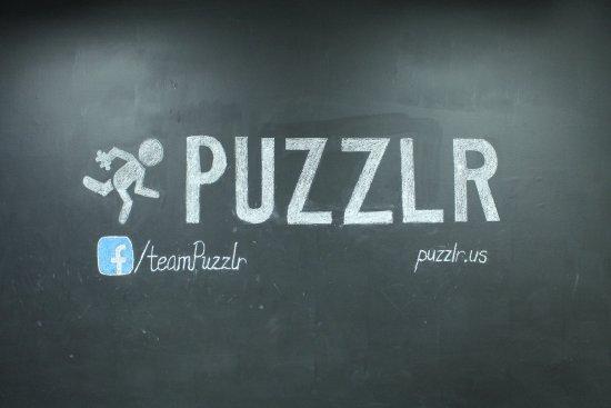 Blacksburg, VA: Puzzlr's first ever logo.