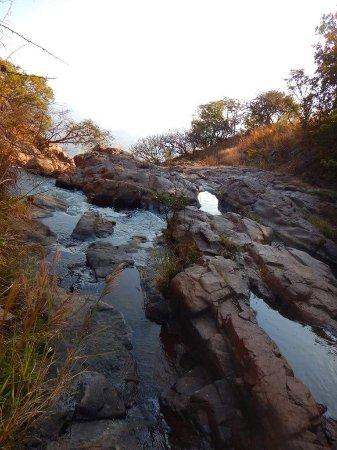 Estado de Mexico, Mexico: Puedes tomar un baño refrescante, agua limpia.
