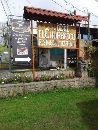 Poasito, Costa Rica: Letrero