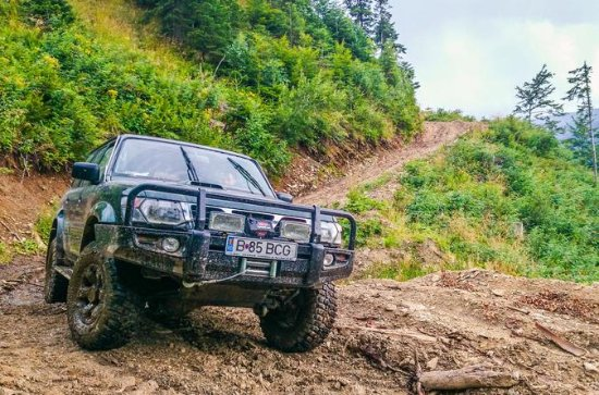 4x4 Off Roading in the Carpathians from...