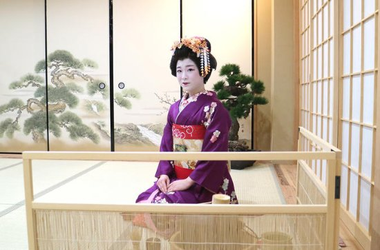 Private Geisha and Maiko Tea Ceremony in Osaka