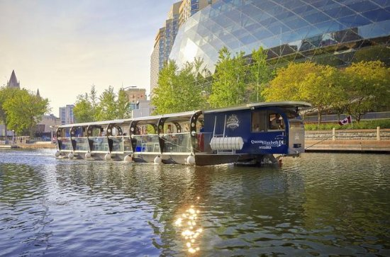 1.5-Hour Rideau Canal Cruise with...