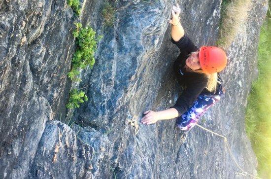 Lead Climbing Wanaka - Medio día