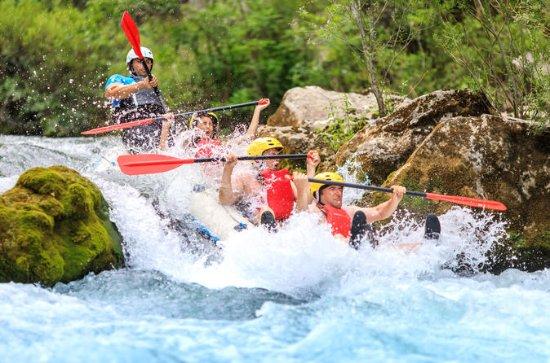 Rafting tour from Split