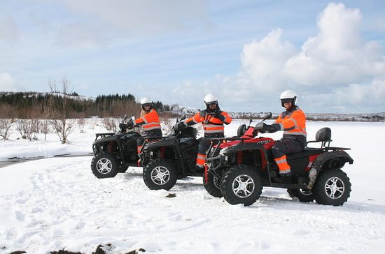 Reykjavik Quad Bike Tour Double Rider
