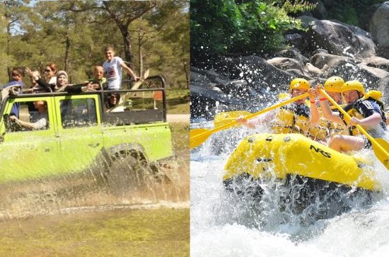 Rafting & Jeep Safari Adventure from...