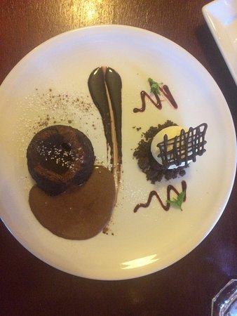 Poppies Cafe: Chocolate Fondant