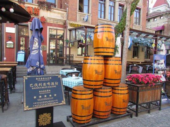 Italian Style Street: barrels