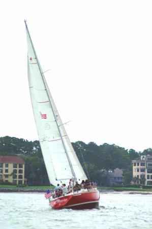 Cheers sailing charters hilton head cheers sailing for Fish camp hilton head