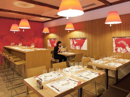 Lancy, Suiza: Restaurant