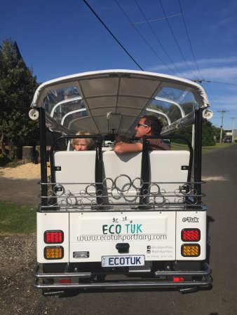 Port Fairy, Austrália: Everyone loved the ride on the ECO TUK