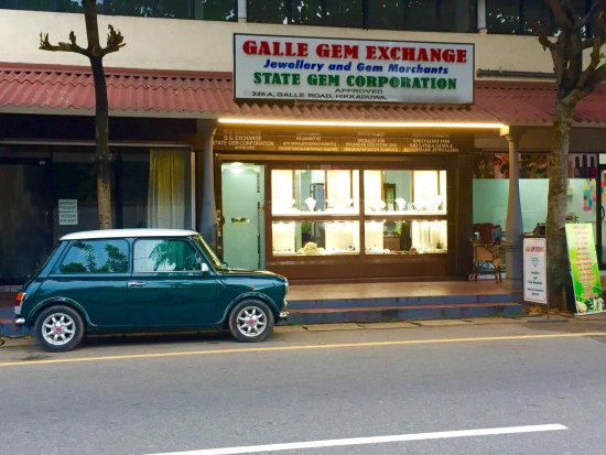 Hikkaduwa, Sri Lanka: Galle Gem Exchange