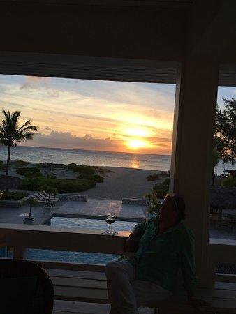Pine Cay: upstairs lounge