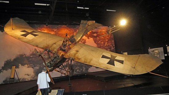 Omaka Aviation Heritage Centre: Etrich Taube