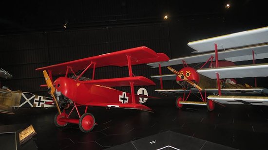 Omaka Aviation Heritage Centre: Jasta 11 display (von Richtofen)