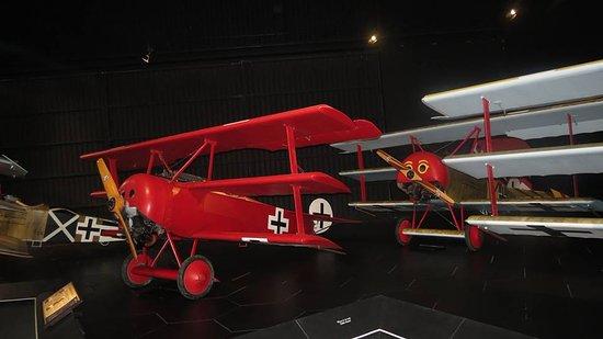 Omaka Aviation Heritage Centre: Jasta 11 display (von Richtofen)
