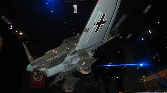 Omaka Aviation Heritage Centre: Stuka in the WW2 section